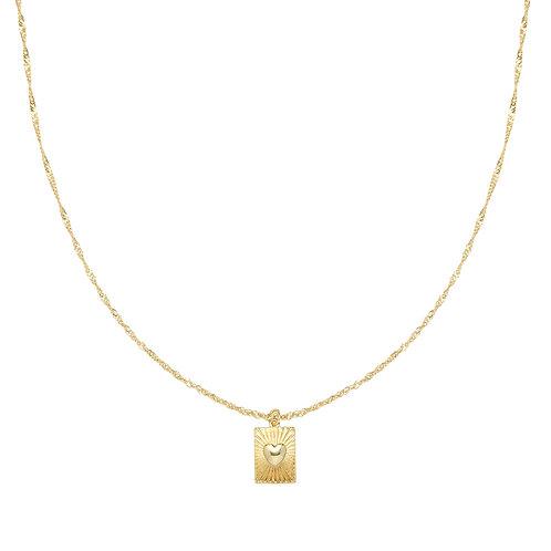 You got me necklace - goud