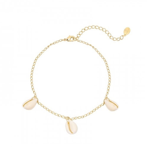 Anklet Shell paradise - Gold