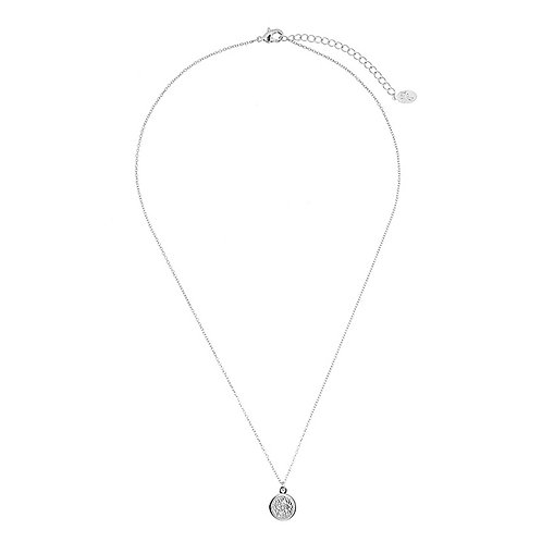 Sweet coin necklace - silver