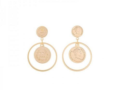 La reina earring - Gold