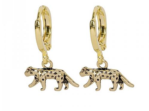 Leopard earring - Gold