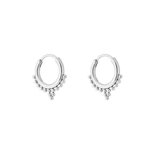 Sweet fall earring - zilver