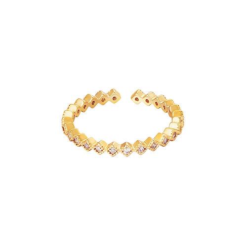 Spot on ring - goud