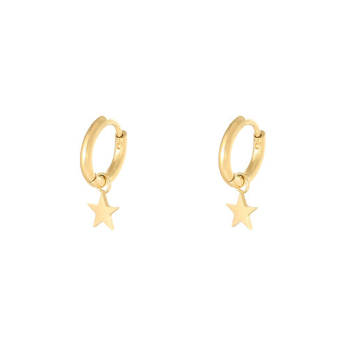My shine earring - goud