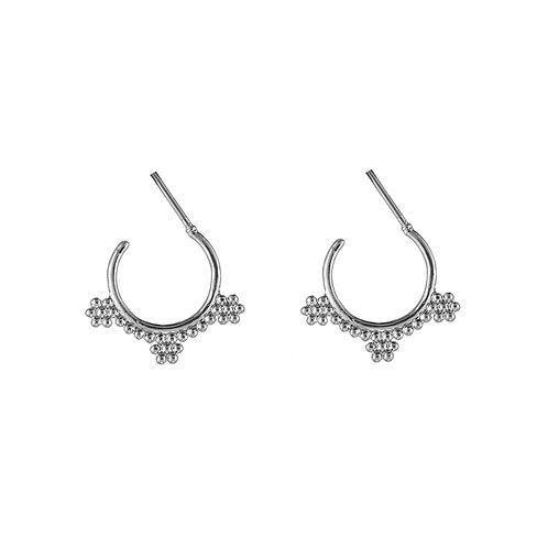 Bali vibes earring II - zilver
