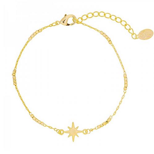 Rising star bracelet - Gold