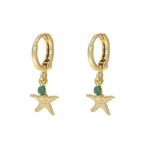 stars dream earring - goud