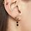 Thumbnail: Yellow fever earring - goud