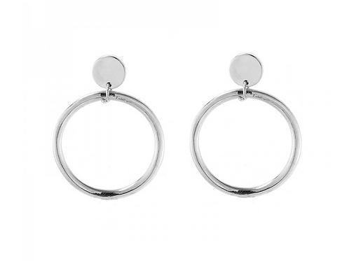 My hoops earring - Silver