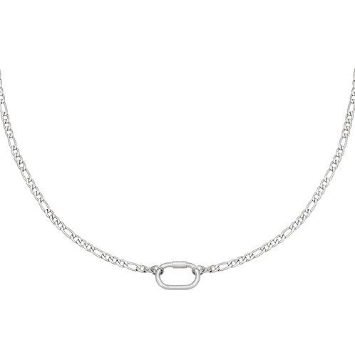 Fool me necklace - zilver