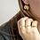 Thumbnail: Cross earring - Goud