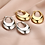 Thumbnail: Pumpkin spice earring - zilver