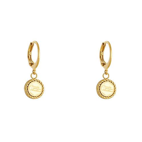 Create sunshine earring - goud