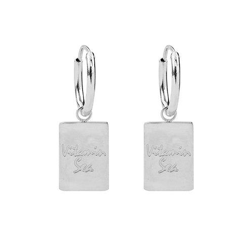 Vitamin Sea earring - zilver