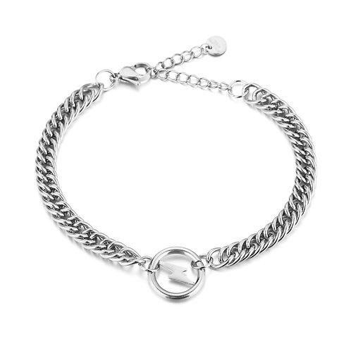 Light me up bracelet - zilver