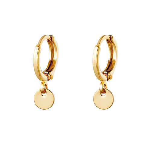 Once more earring - goud