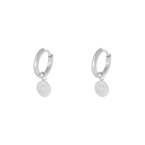 Lie for you earring - zilver