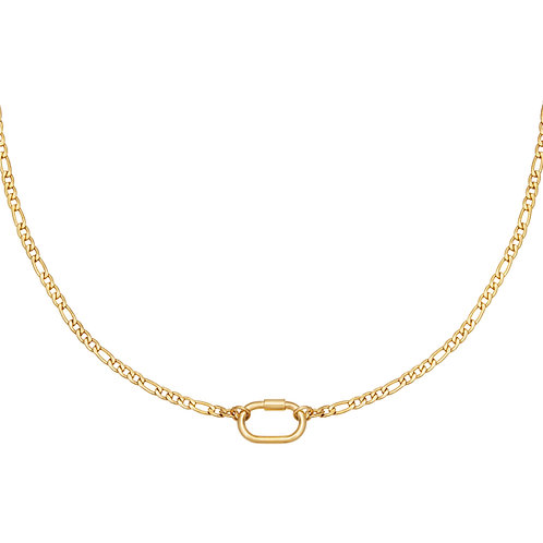 Fool me necklace - goud