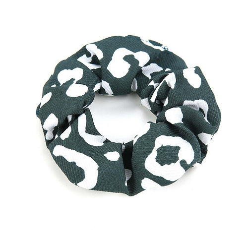 Scrunchie - Print groen