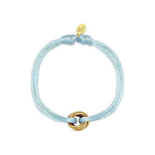 Iconic bracelet - aqua