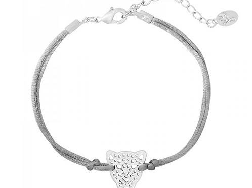 Get em tiger bracelet - Silver