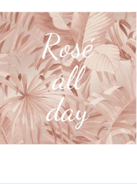 Polaroid kaart - Rose all day