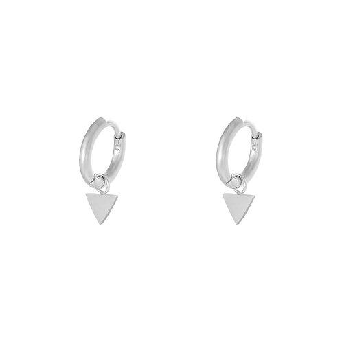 Ella earring - zilver