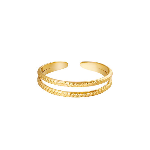 Miraculous ring - goud