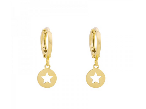Catch the star earring - Gold