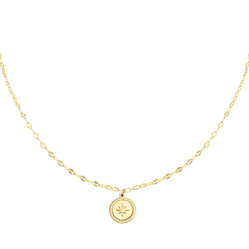 Necklace Rising Star - Goud