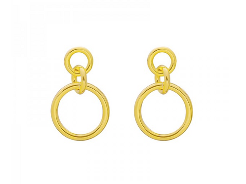 Girl power earring - Gold