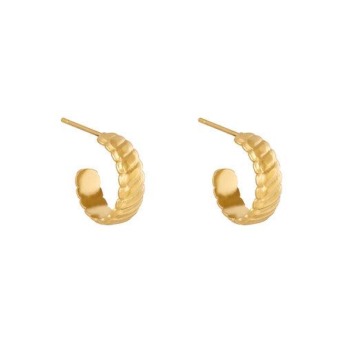 Call it love earring - goud