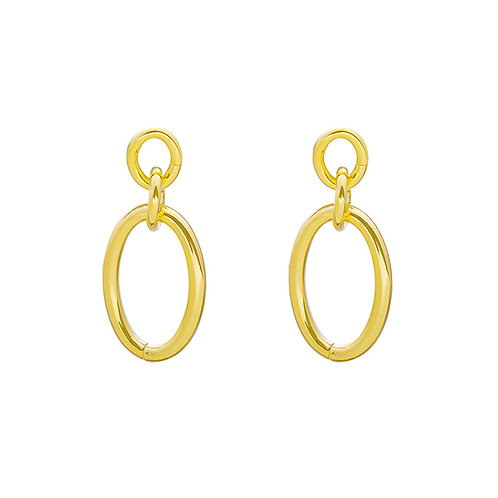 Holy chic earring - goud
