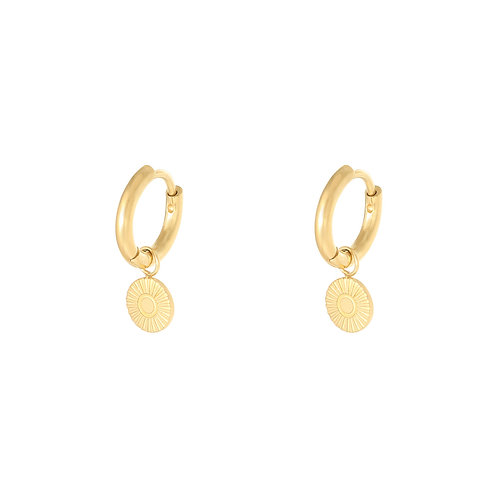 Lie for you earring - goud