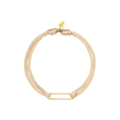 Looking at you bracelet - beige