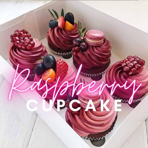 Raspberry Cupcake - Waxmelt 2 stuks