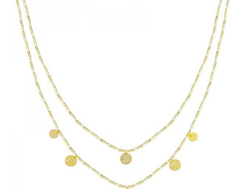 Necklace Royal coins - Gold