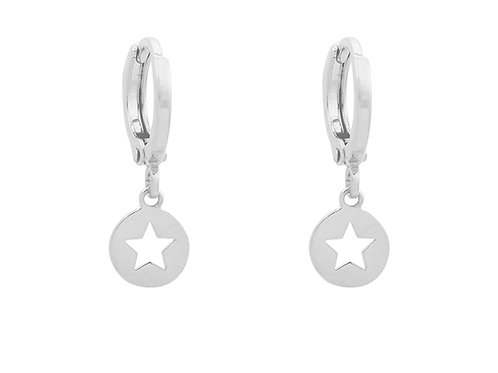 Catch the star earring - Silver