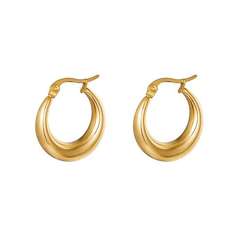 Just us earring - goud