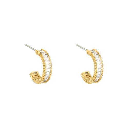 Classy earring - goud
