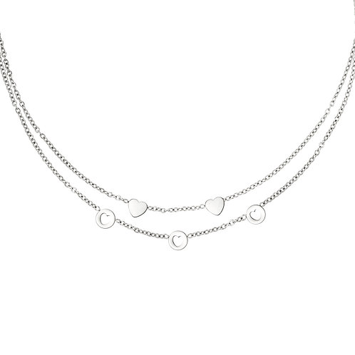 Prove me right necklace - zilver