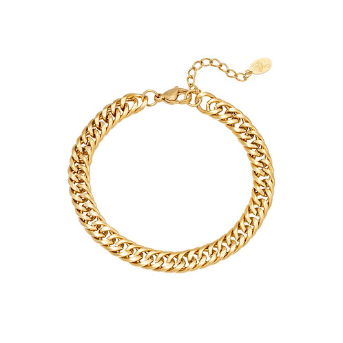 Give me love bracelet - goud