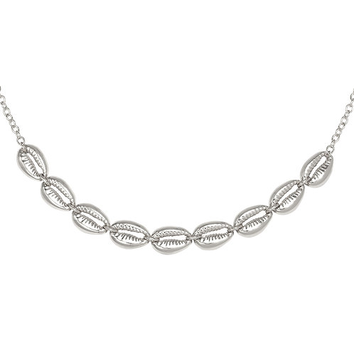 Necklace -Bali vibes silver