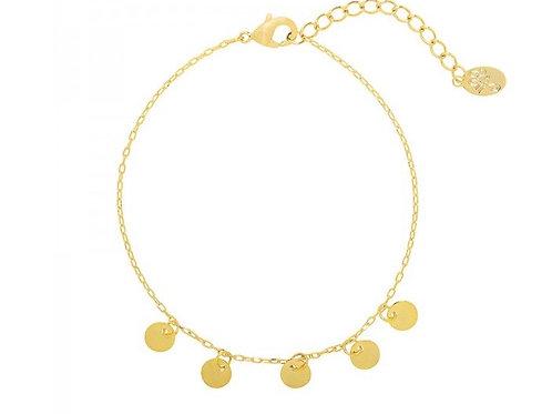 Bracelet a lot of circles- Gold