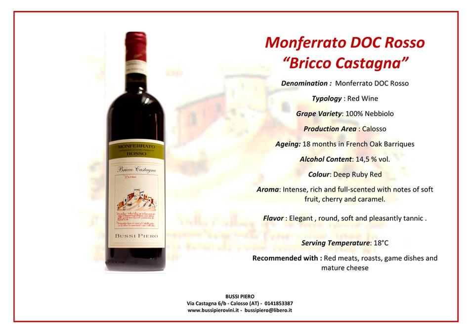 Monferrato DOC Rosso BRICCO CASTAGNA ENG