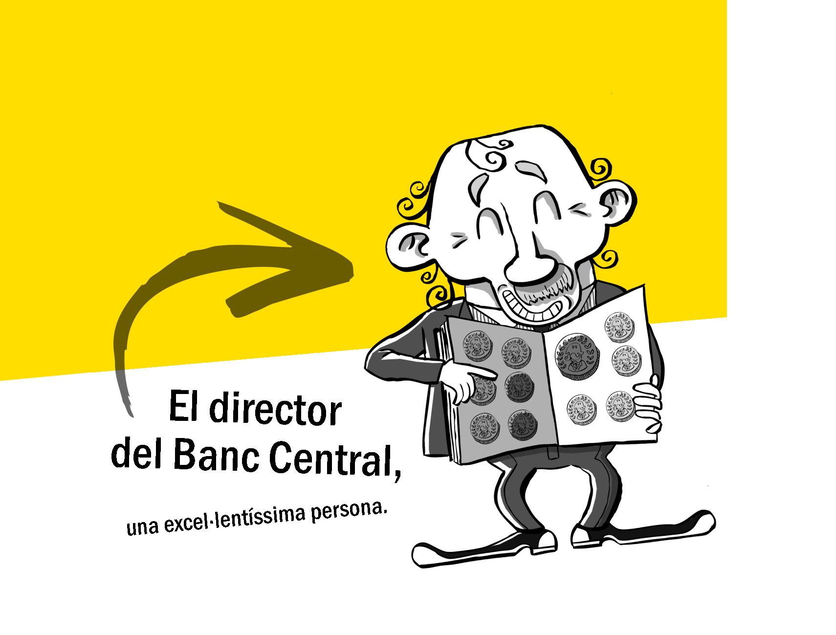 El director del Banc Central