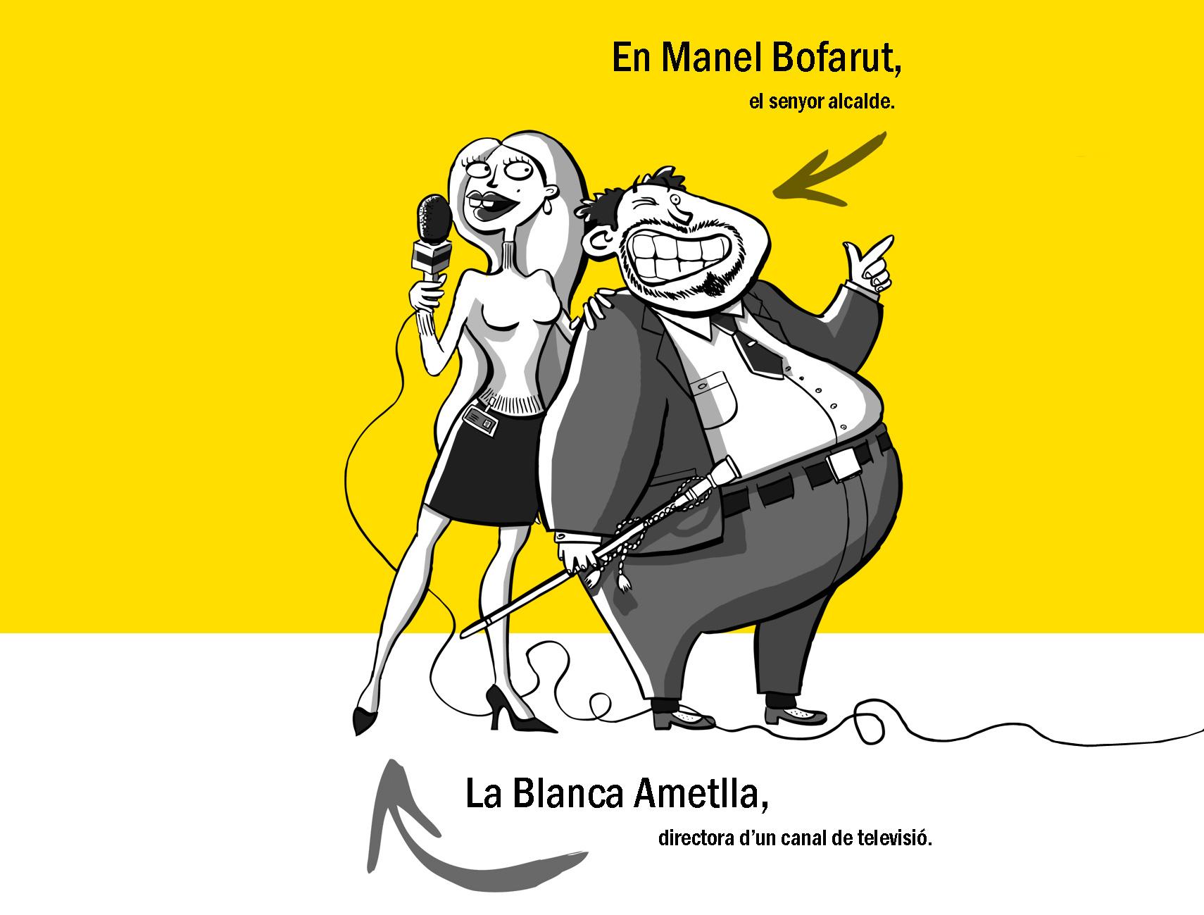 La Blanca Ametlla i en Manel Bofarut