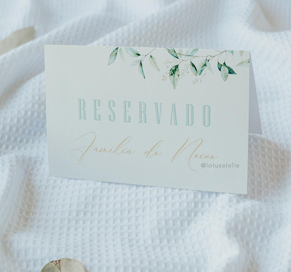 Convite-de-casamento-Lotus-Atelie_FolhasPlaquinha Reservado para Casamento Folhas