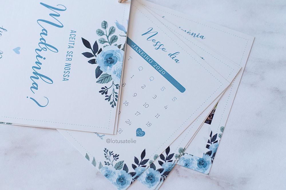 Manual das Madrinhas Azul Serenity
