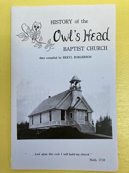 History of Owls Head Baptist Church by Beryl Borgerson